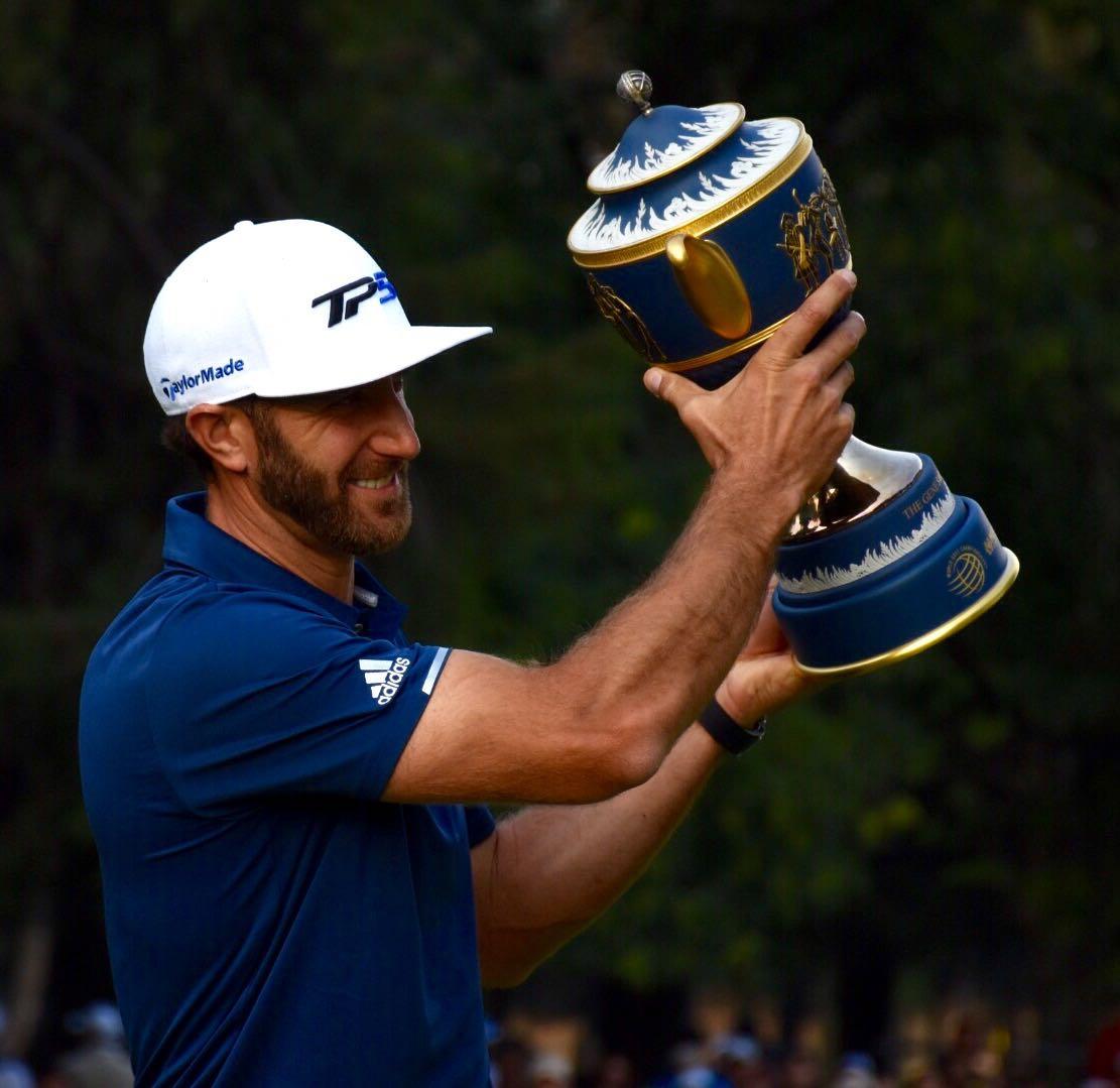 El número uno del mundo Dustin Johnson se lleva el World Golf Championships en CDMX