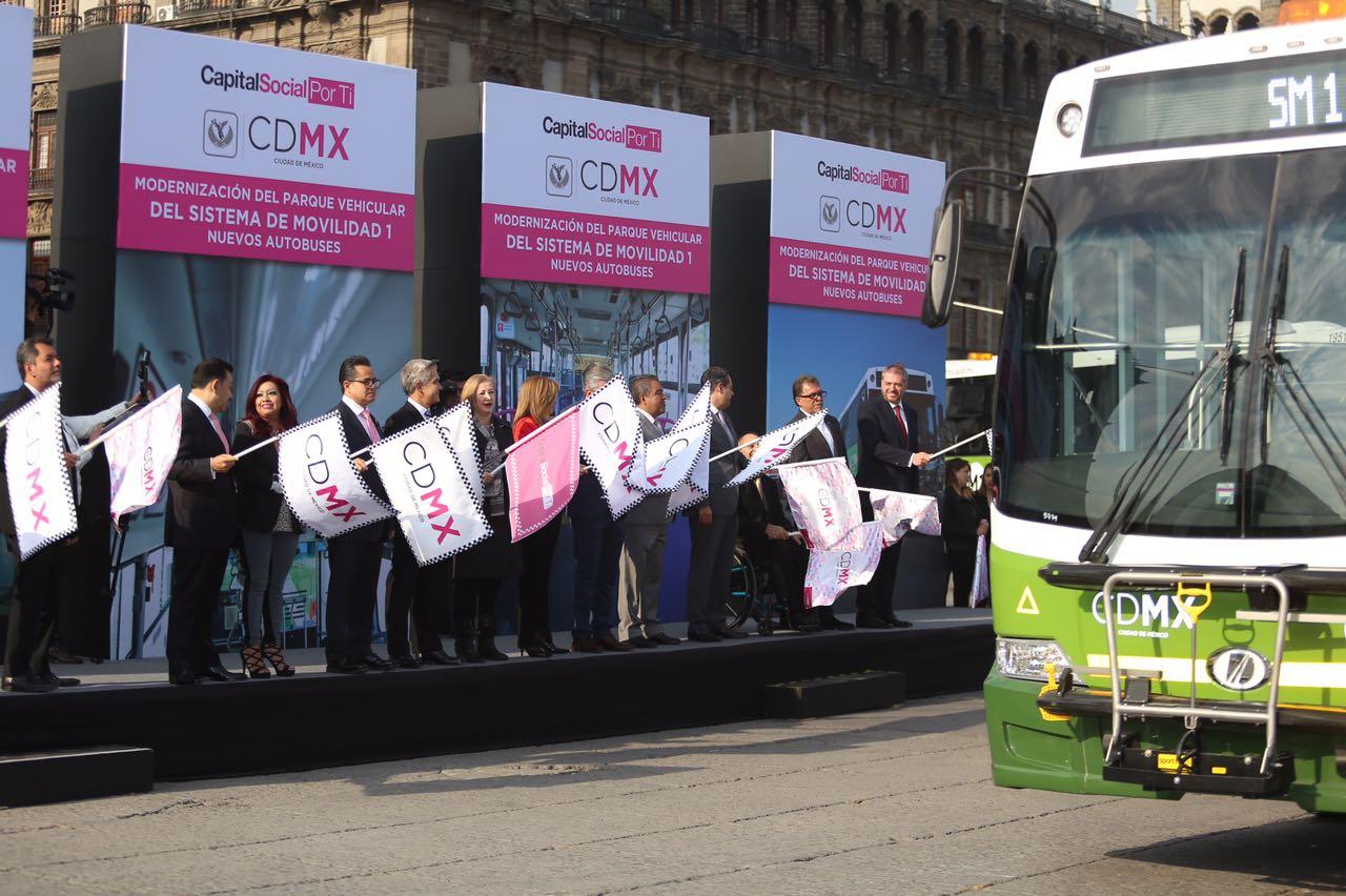 Nuevos buses de Sistema M1 reforzarán movilidad en CDMX; contarán con conexión para USB