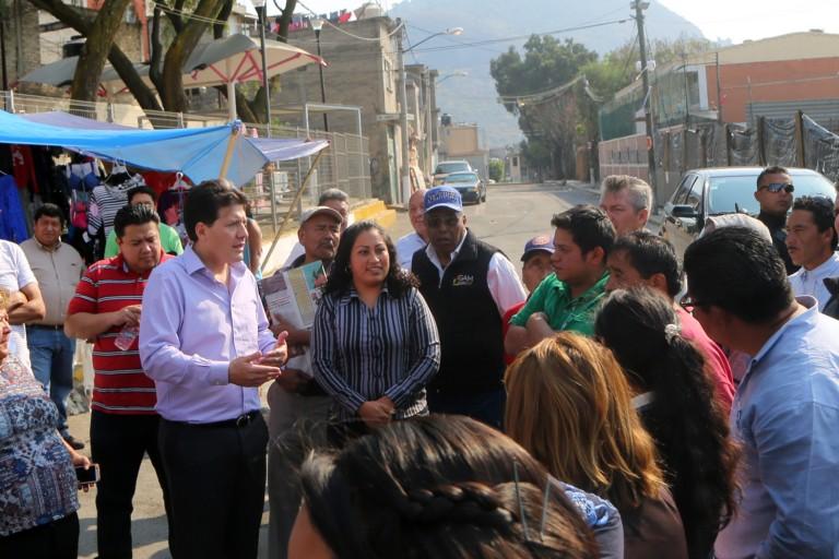IMPLEMENTARÁ LOBO PROGRAMA INTEGRAL DE SEGURIDAD EN LA ZONA DE CUAUTEPEC