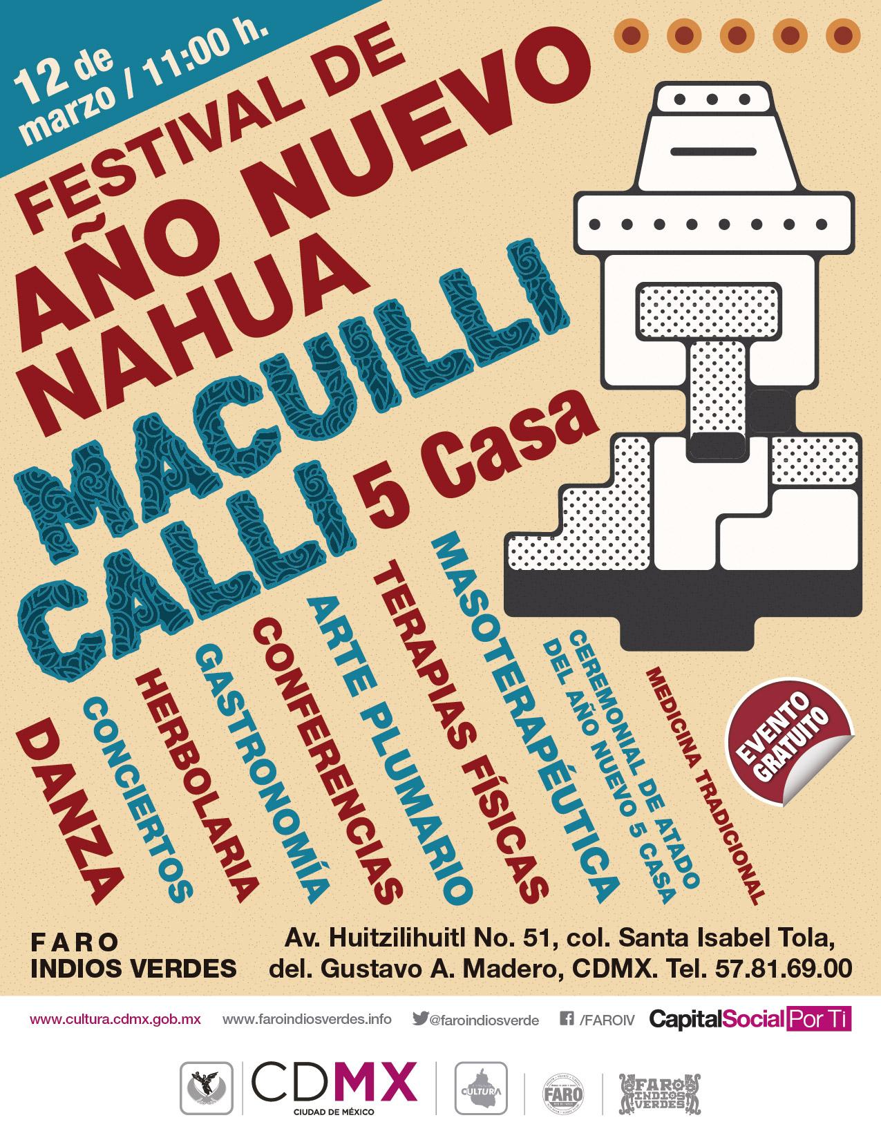 FESTIVAL DE AÑO NUEVO NAHUA