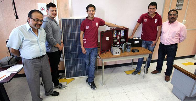 Desarrollan politécnicos generador eléctrico sustentable