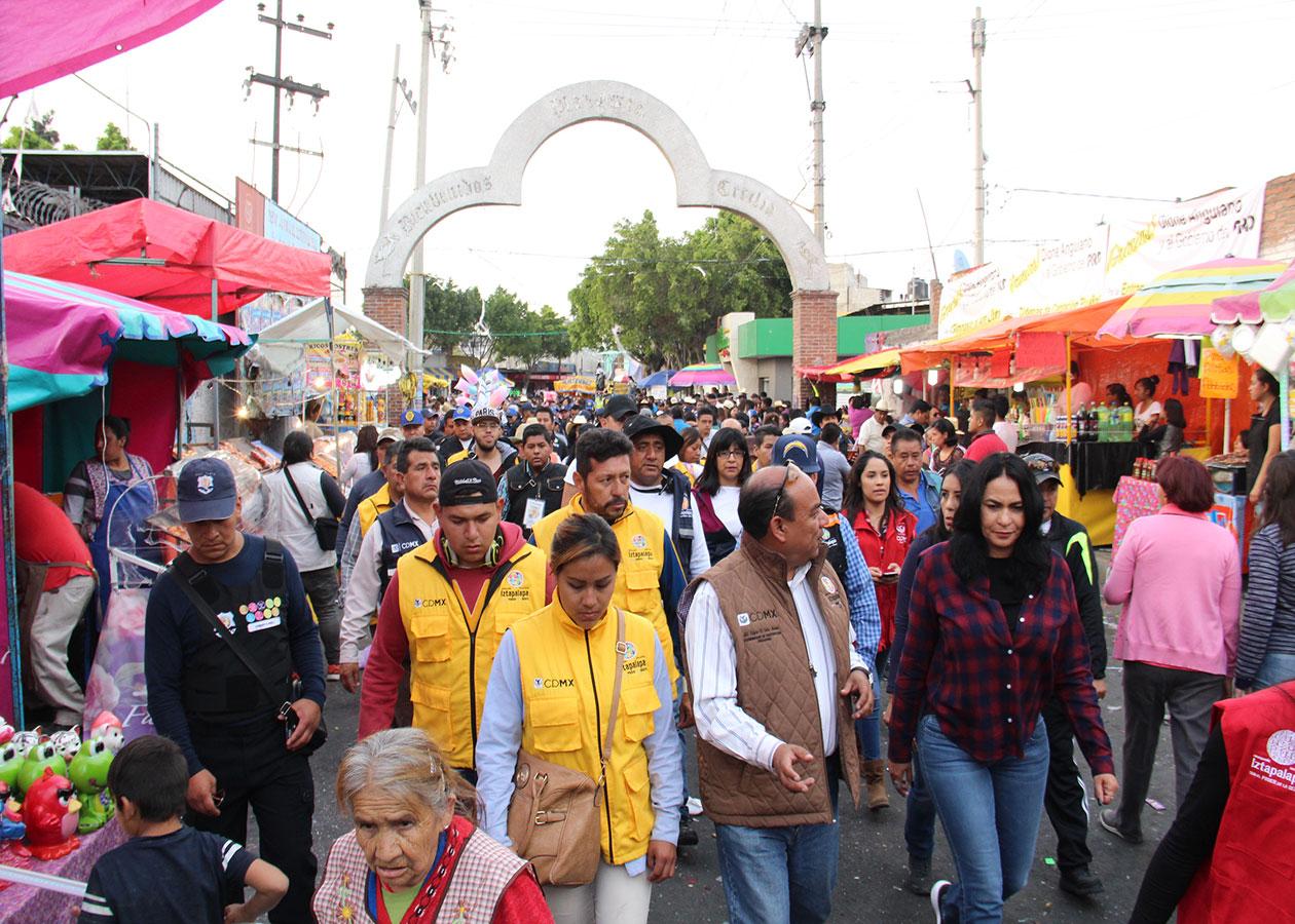 EXHORTAN A IZTAPALAPENSES A MANTENER FESTEJOS DE CARNAVALES CON SALDO BLANCO