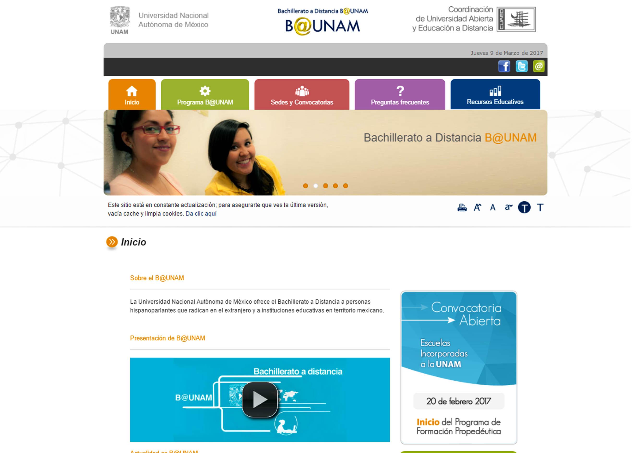 CELEBRA 10 AÑOS EL BACHILLERATO A DISTANCIA DE LA UNAM