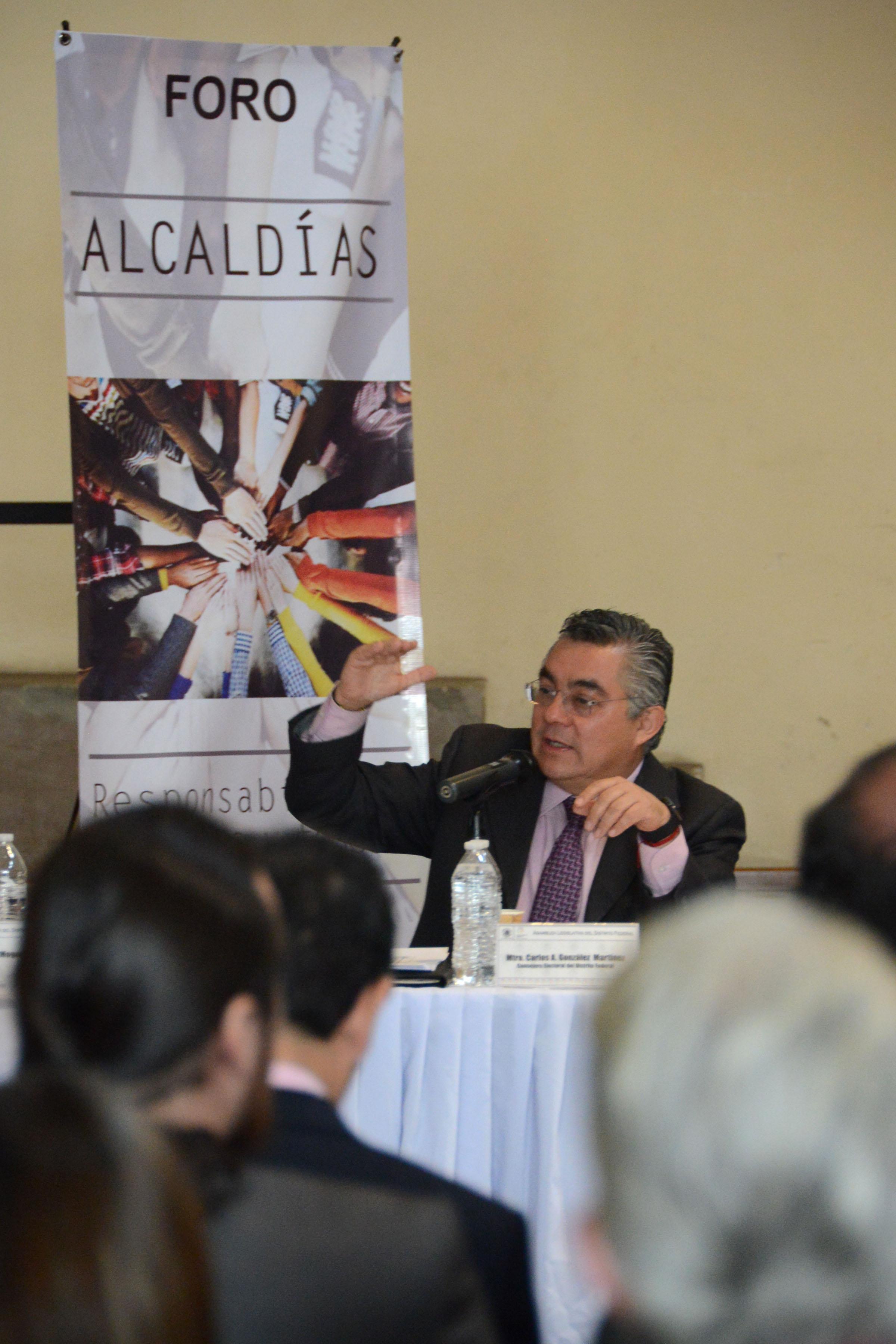 Ley Electoral debe definir criterios para elección de Alcaldes y Concejales: Carlos González Martínez