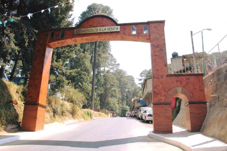 Concluye construcción de Arco de Bienvenida de La Venta