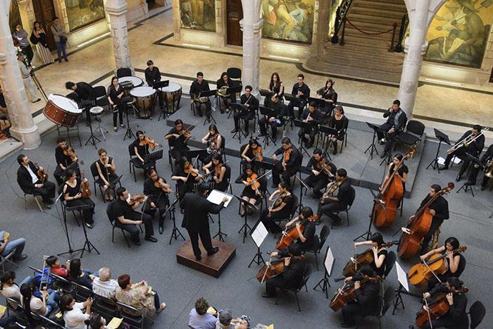 La Banda Sinfónica de la Escuela Superior de Música se presentará en la Biblioteca Vasconcelos