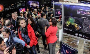 CON REALIDAD VIRTUAL, PERMITE EXPOSICIÓN DE LA UNAM ADENTRARSE EN LAS NEBULOSAS