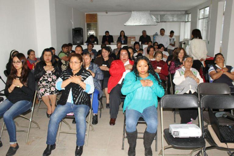 """Delegación Cuajimalpa imparte taller """"Mujer Emprendedora y Autoestima"""""""