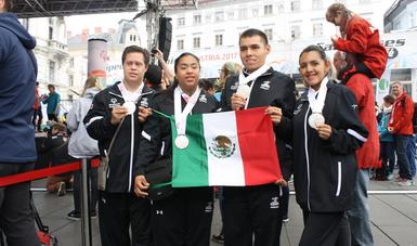 Suma México ocho medallas en XI Juegos Mundiales de Invierno en Austria