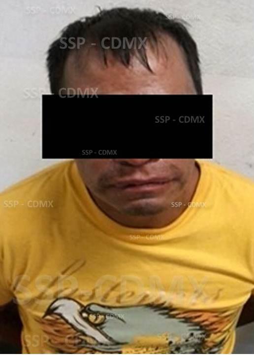 APLICACIÓN MI POLICÍA EN MI NEGOCIO PERMITE A SSP-CDMX ASEGURAR A DOS REINCIDENTES POR ROBO