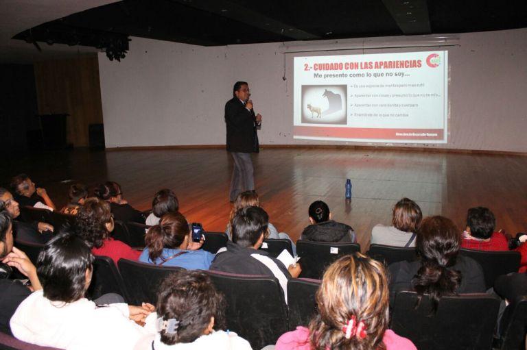 Imparte Delegación Cuajimalpa Talller para Secundaria