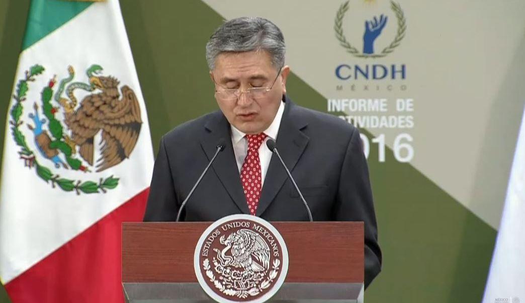 Informe de Actividades 2016 del Presidente de la CNDH