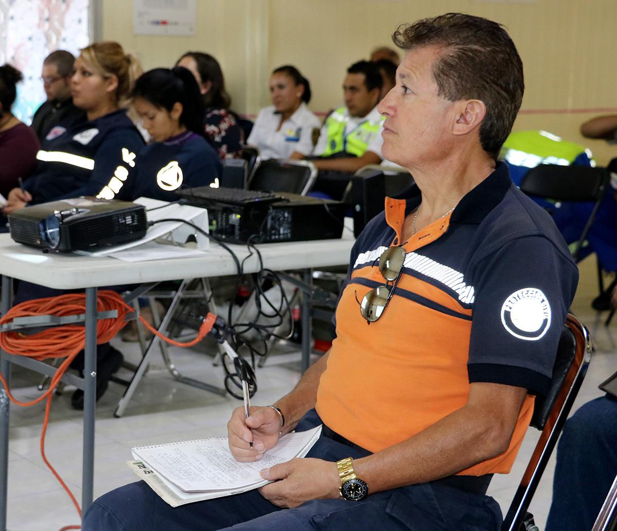 CURSAN BRIGADAS DE PROTECCIÓN CIVIL DE LA CDMX TALLER DE SENSIBILIZACIÓN EN MATERIA DE DISCAPACIDAD