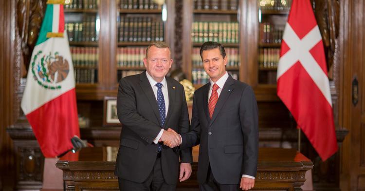 México y Dinamarca firman Declaración Conjunta