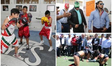 Autoridades de la CONADE reinauguran el Centro Deportivo de Tepito