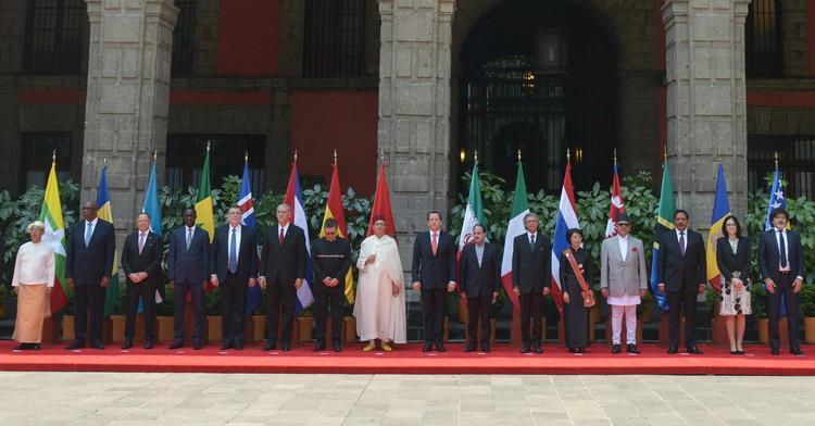 Cartas Credenciales de Embajadores acreditados en México