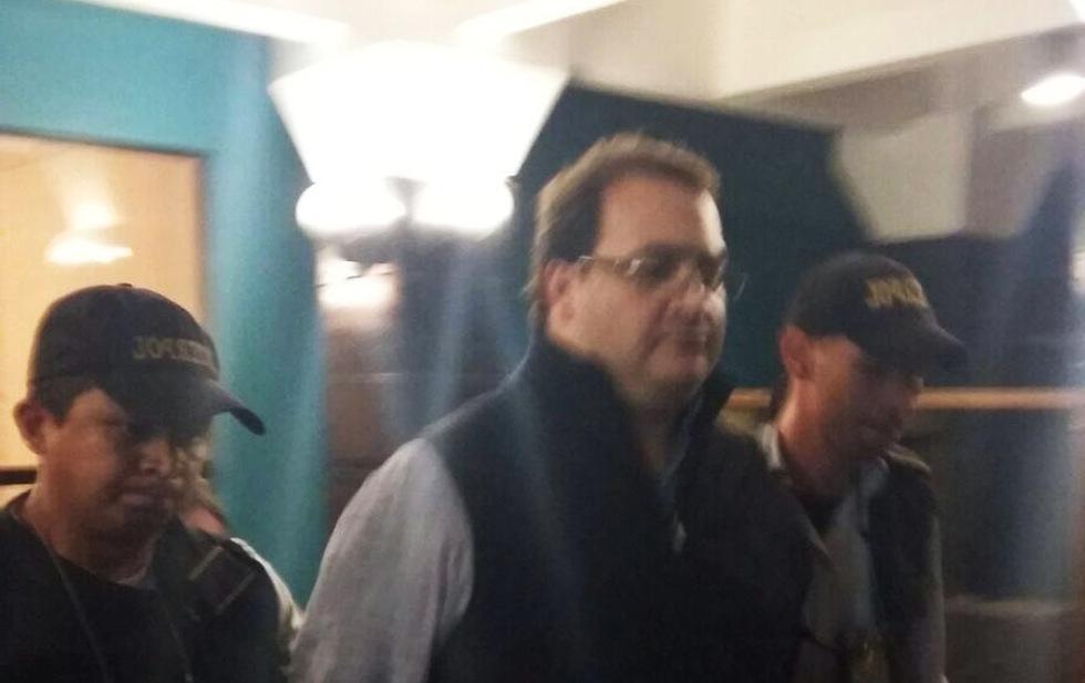 PGR informa la detención en Guatemala del ex gobernador Javier Duarte