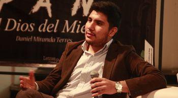 Daniel Miranda Terrés presentará su poemario Pan: el dios del miedo
