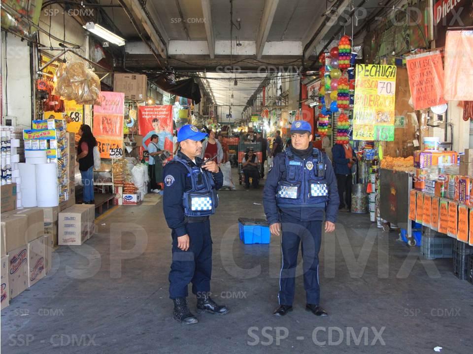 SSP-CDMX INCREMENTA PRESENCIA POLICIAL EN LA CEDA PARA REFORZAR LA SEGURIDAD