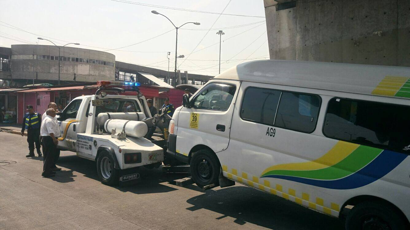 Operativo de supervision al transporte público
