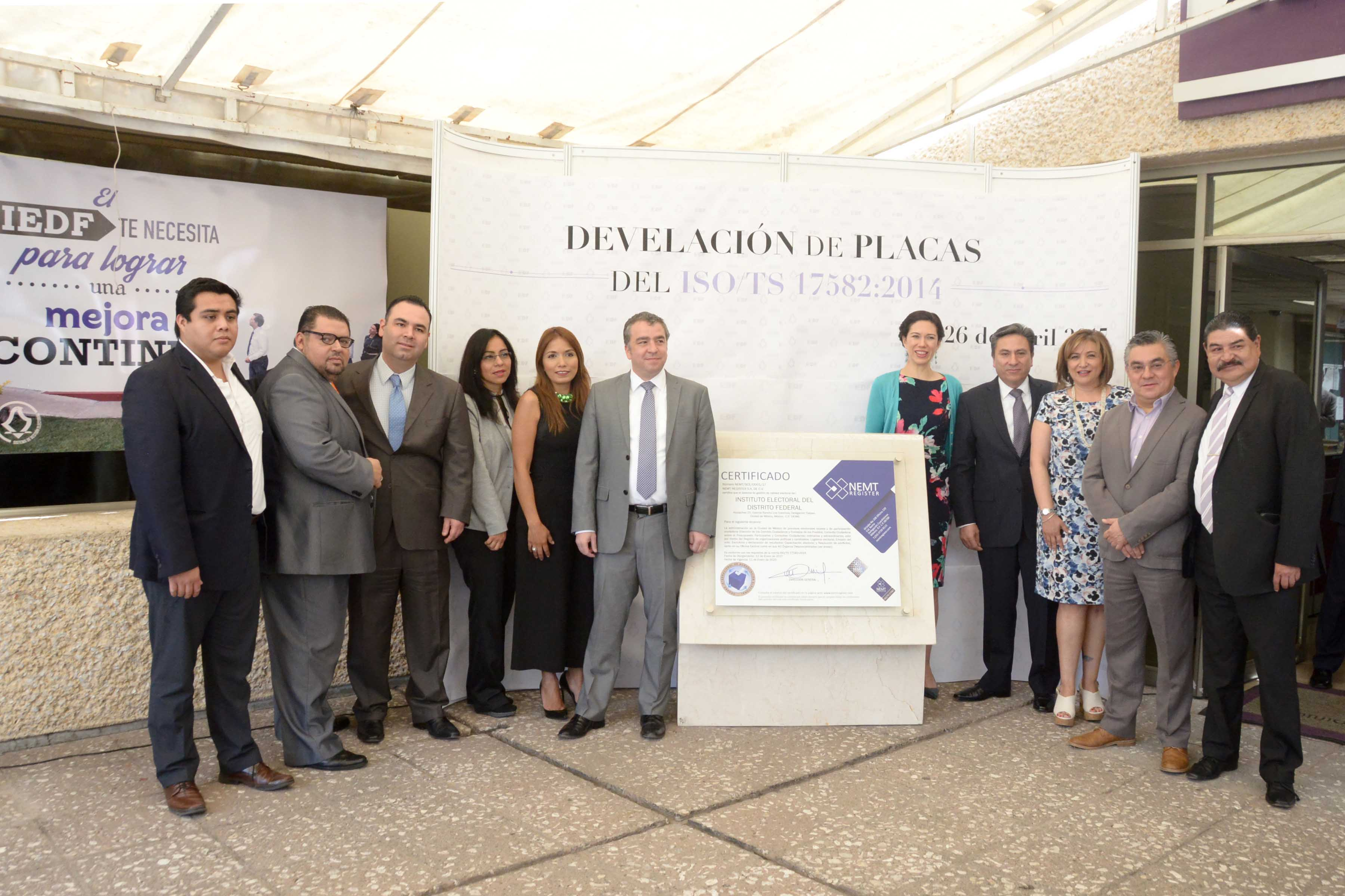 El IEDF comprometido con la calidad en los procesos electorales en la Ciudad de México