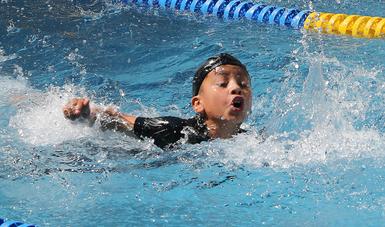 Iniciación temprana en natación, ideal para total adaptación al medio acuático