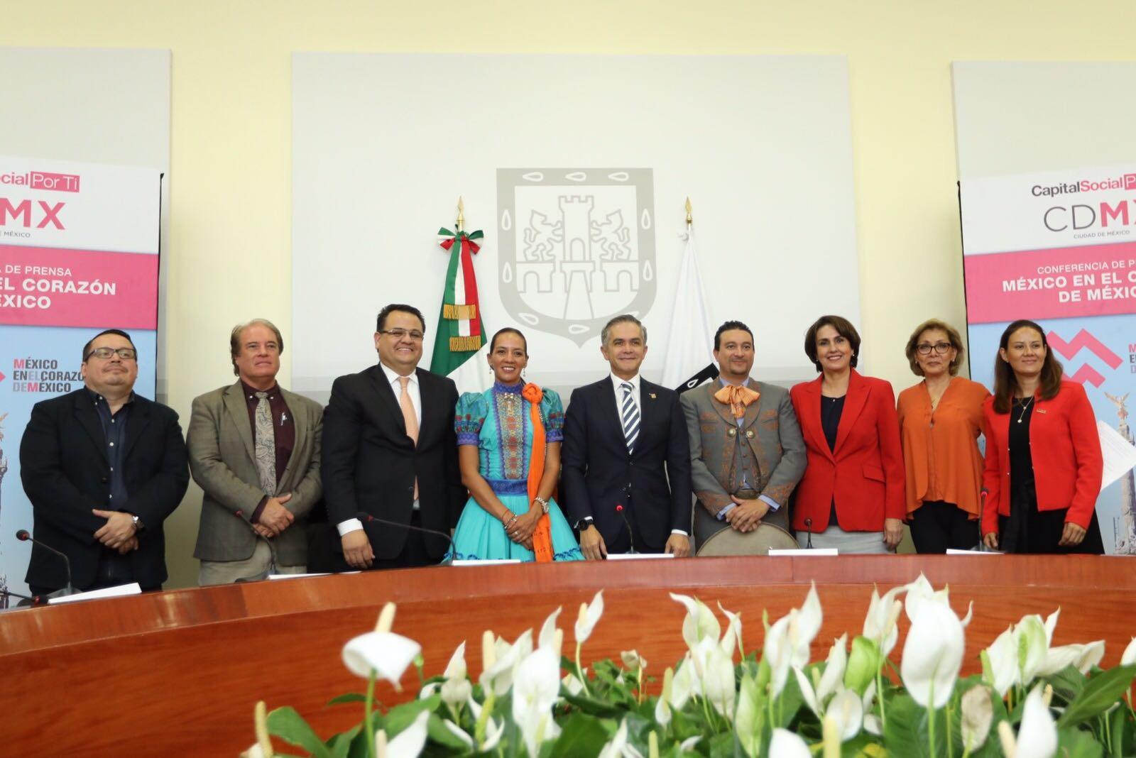 Gastronomía, cultura y artesanía de los estados del país con feria México en el corazón de México