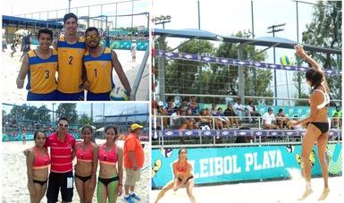 Universiada Nacional se engalana con inicio de voleibol de playa y alto voltaje en softbol