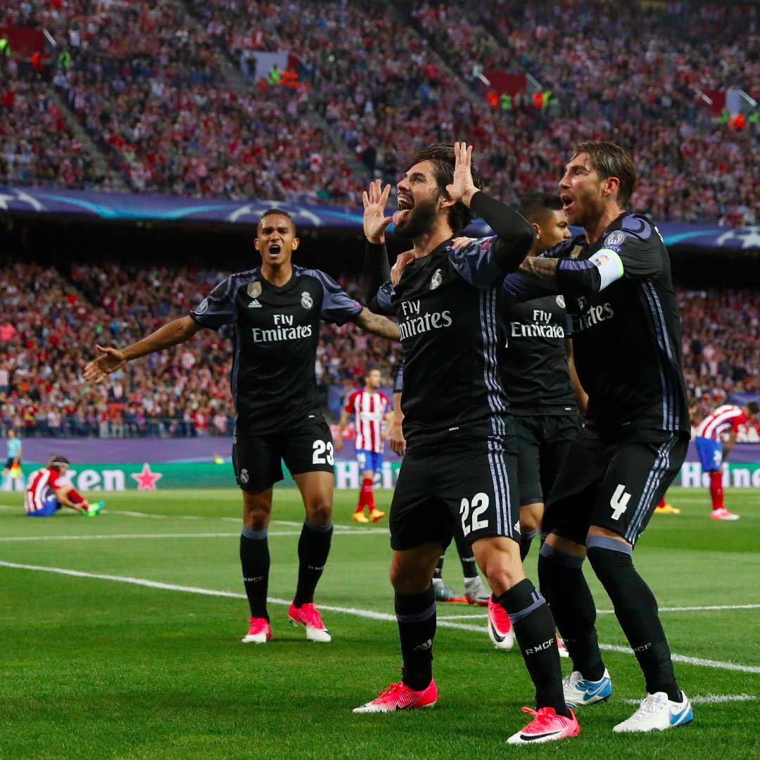 REAL MADRID AVANZA A FINALES DE LA CHAMPIONS