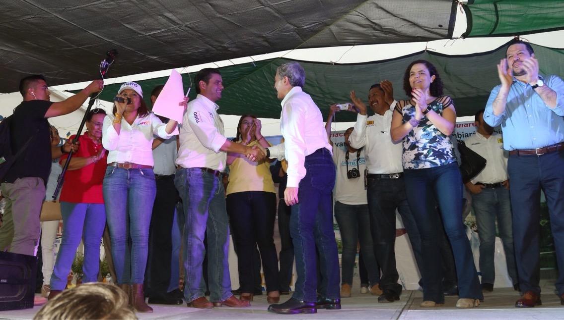 Jefe de Gobierno de la CDMX muestra apoyo a los candidatos a gobernador por la alianza Juntos por Ti