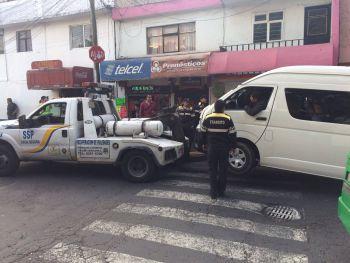 Semovi implementó operativo de reordenamiento al transporte público en las inmediaciones de Xochimilco