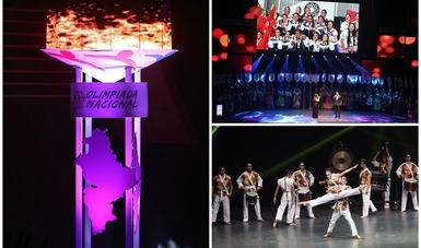 Inauguran la Olimpiada Nacional y Nacional Juvenil 2017