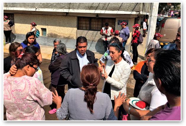 Atiende Tlalpan afectaciones por lluvia