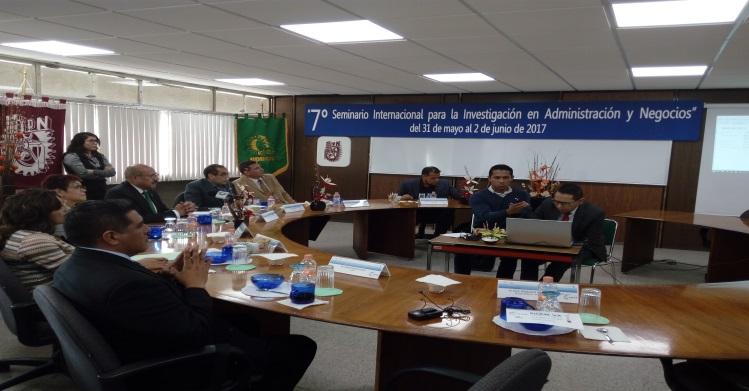 Participa IPN en Seminario Internacional de Investigación Administrativa y de Negocios