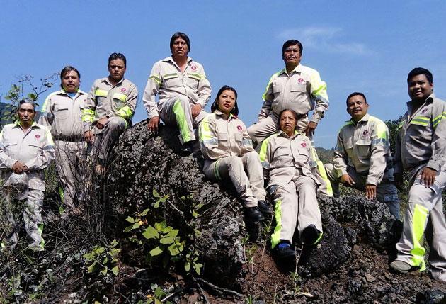Brigadistas forestales de Tlalpan, reconocidos a nivel nacional
