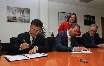 Encabeza Alfredo Castillo firma de convenio de colaboración en materia deportiva con China