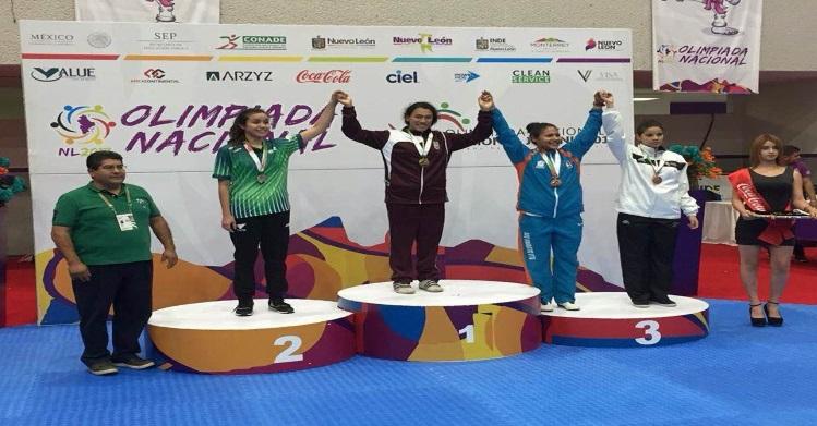 Taekwondoínes politécnicos ganan 14 medallas en la Olimpiada Nacional 2017