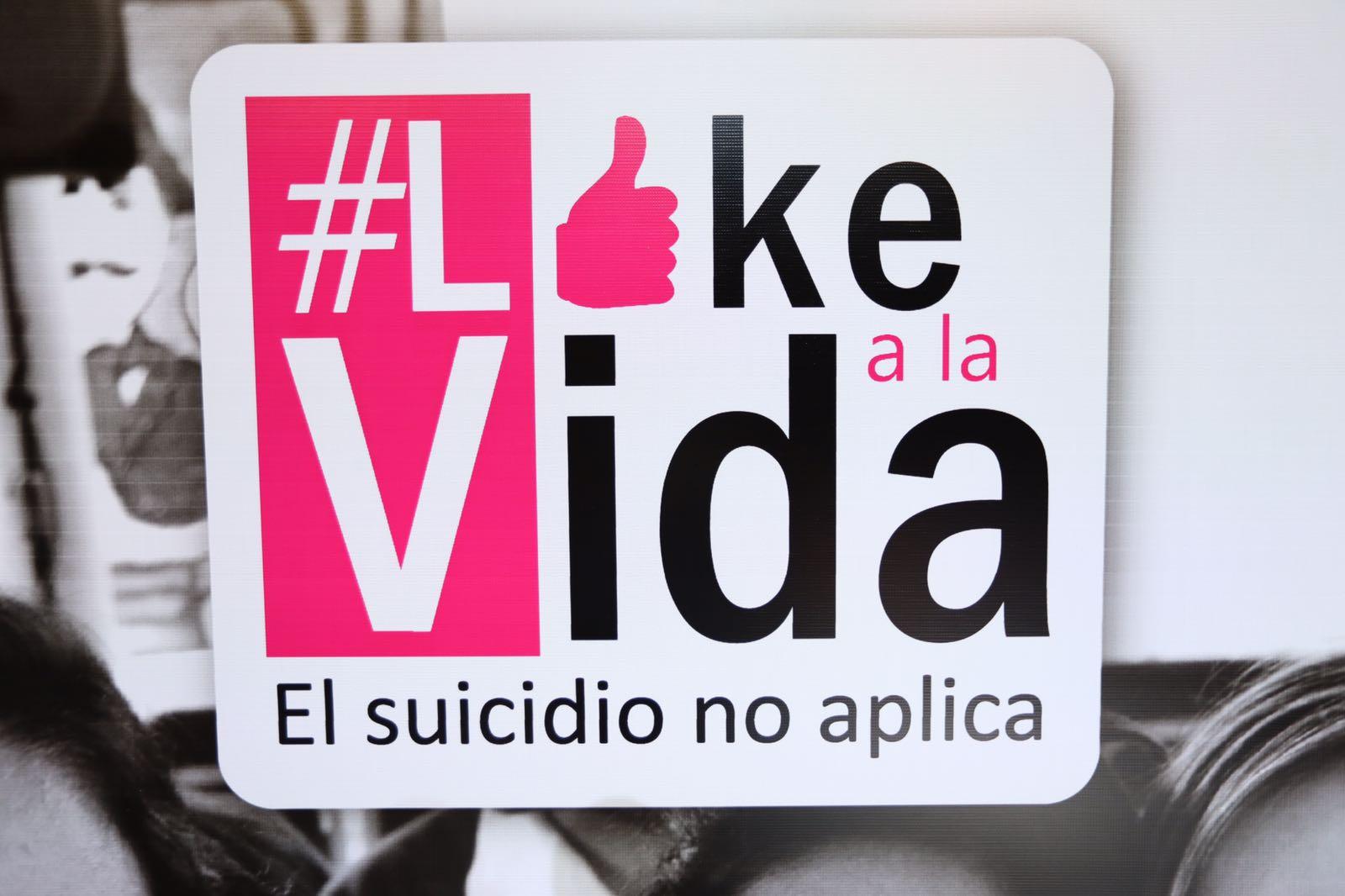 Presentan campaña de prevención y atención al suicidio en jóvenes Like a la Vida