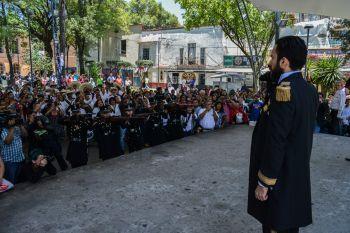 REVIVE AZCAPO FUSILAMIENTO DE MAXIMILIANO