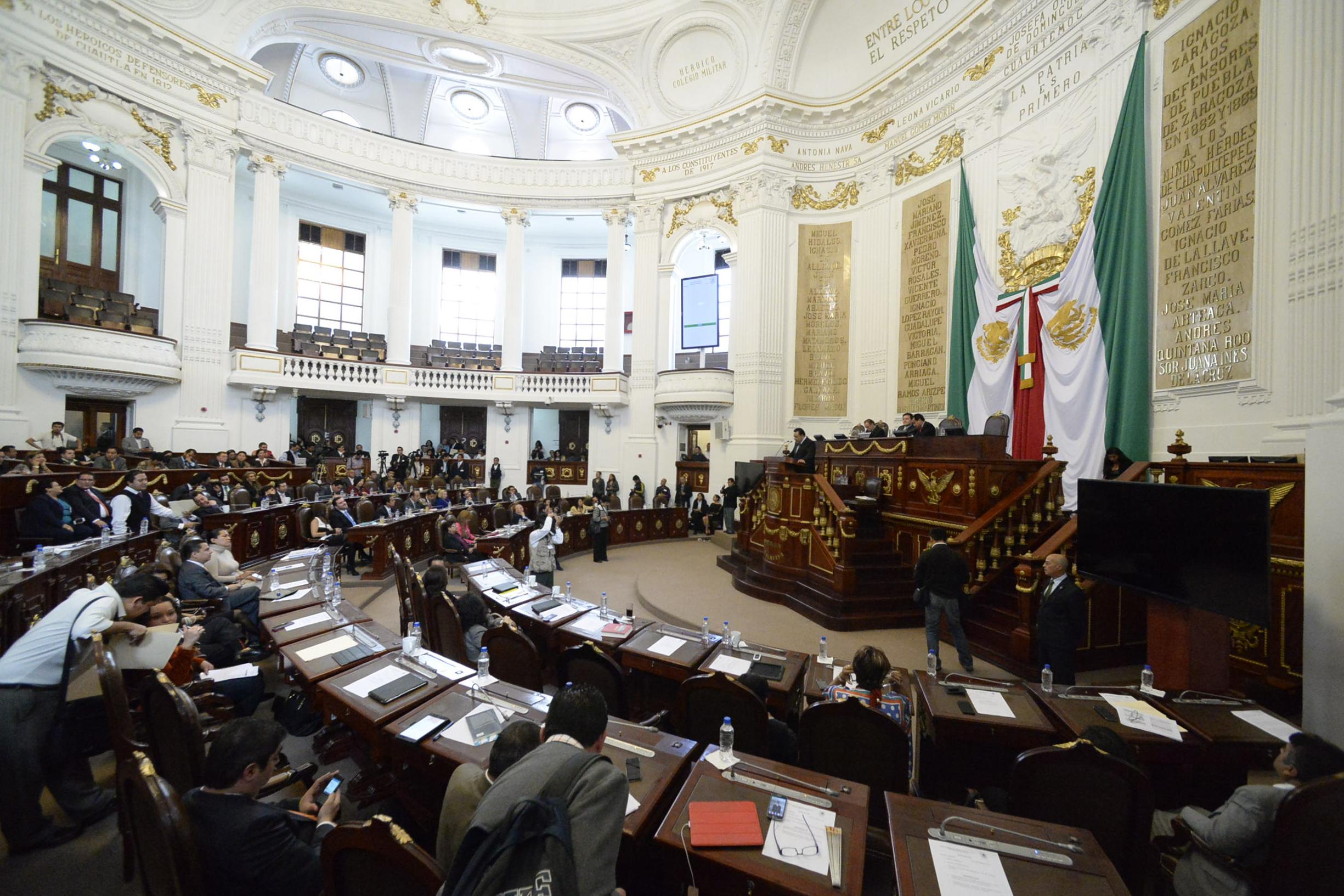 ALDF discutirá en comisiones reformas a diversas leyes