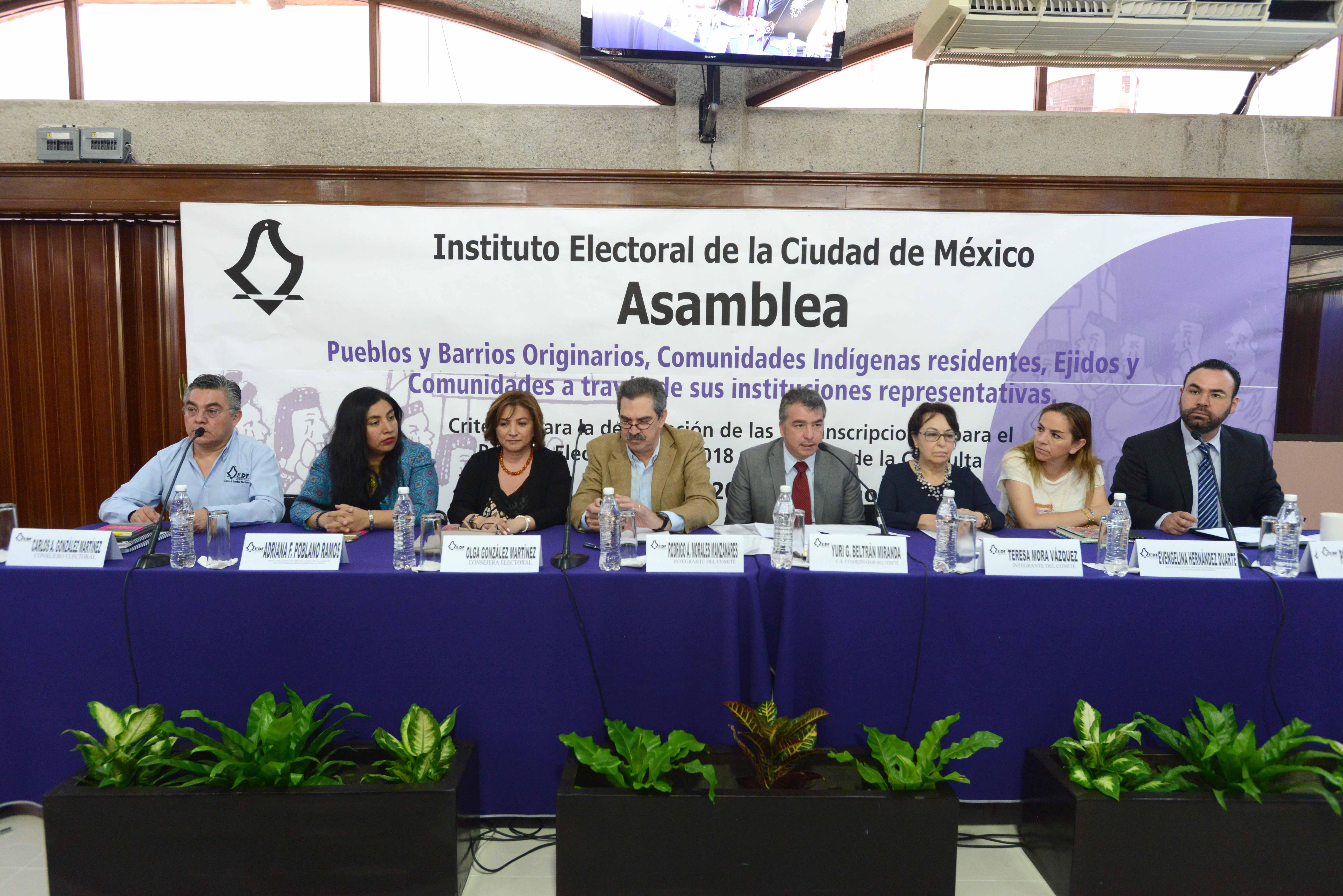 Realiza IECM Asamblea para dar a conocer y discutir criterios para delimitar circunscripciones