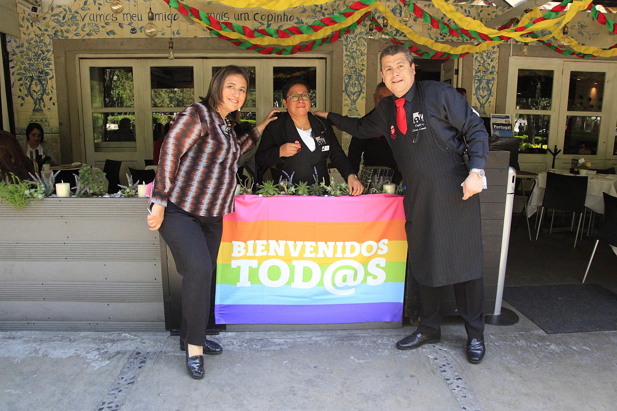 La Delegación Miguel Hidalgo lanzó la campaña Bienvenidos Tod@s
