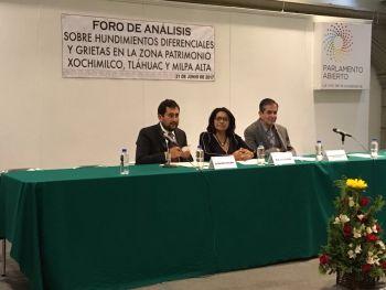 Necesario destinar recursos para combatir hundimientos en la Ciudad: Flor Ivone Morales