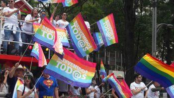Xochitl Gálvez no fue bien recibida en la marcha del orgullo LGBTTI