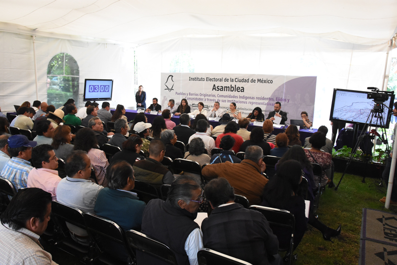 Presenta IECM versión preliminar de futuras circunscripciones