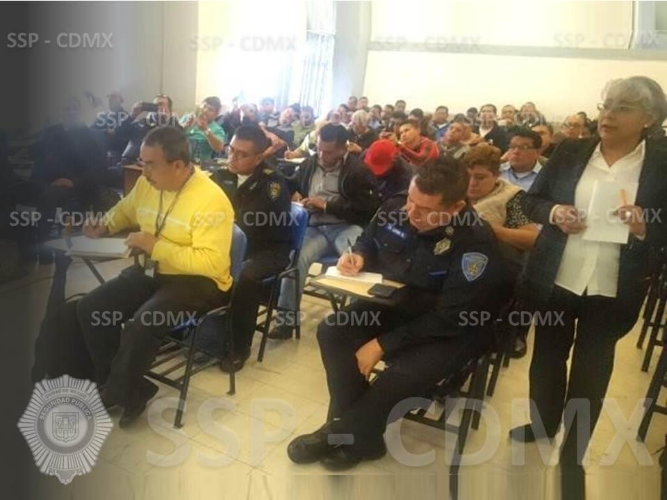 AGENTES DE LA POLICÍA AUXILIAR RECIBEN CAPACITACIÓN ESPECIALIZADA