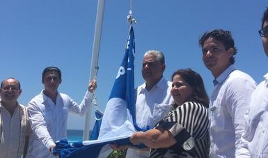 México cuenta ya con 35 playas y 2 marinas certificadas con el galardón Blue Flag