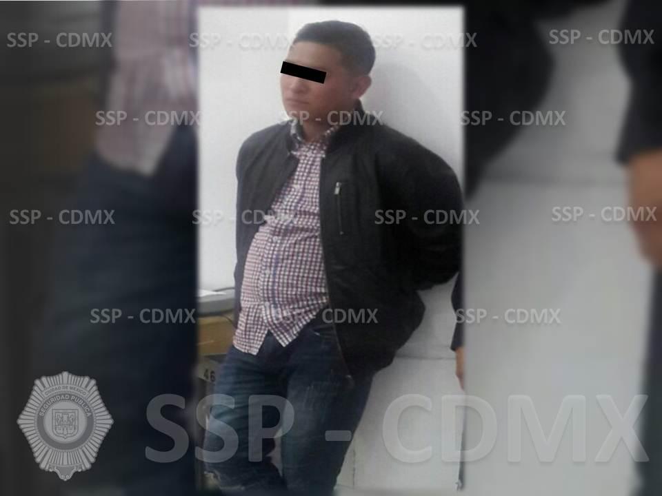 SSP-CDMX DETIENE A RESPONSABLE DE ROBO EN TIENDA DEPARTAMENTAL