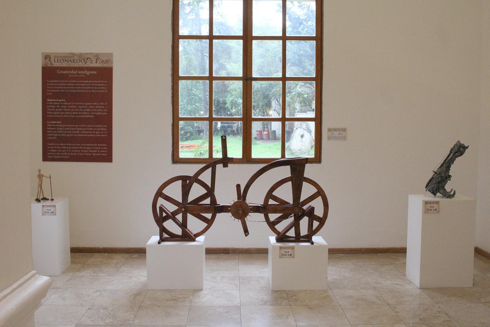 Llega a Tlalpan Los Inventos de Leonardo Da Vinci