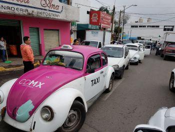 Semovi realizan operativo de reordenamiento al transporte público concesionado